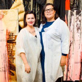 OLena Dats' and Maryana Vozytsia
