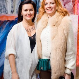OLena Dats' and Iwona Loban