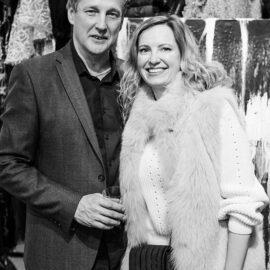 Serhiy Savchenko and iwona Loban