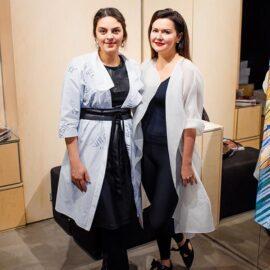 Uliana Gorachevska and Olena Dats'